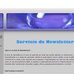 Servicio de Newsletters