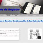 Servicios de Registro